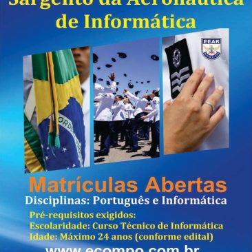 Preparatório para Sargento da Aeronáutica de Informática (EAGS-SIN)